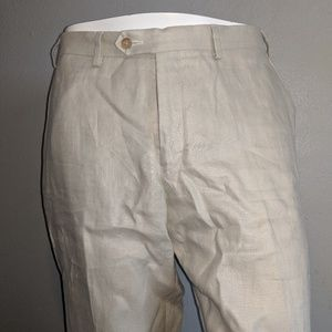 Polo 100% Linen Dress pants 35X30